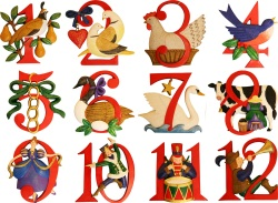 Песня Twelve Days of Christmas