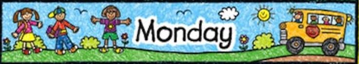 Понедельник на английском языке