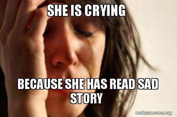she is crying meme мем для изучения английского языка