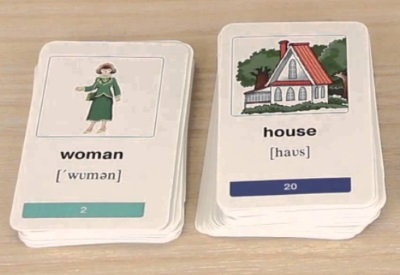 Карточки для запоминания английских слов