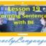 Образование предложений с to be - 19 урок - английский для начинающих с Дженнифер