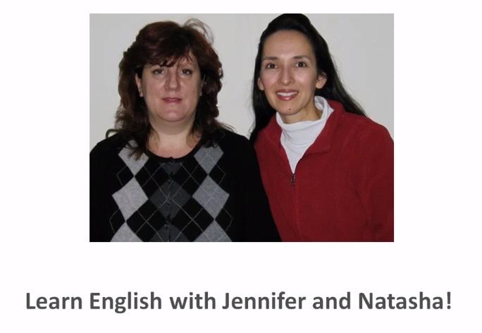Английский с Дженифер и Наташей - видеокурс
