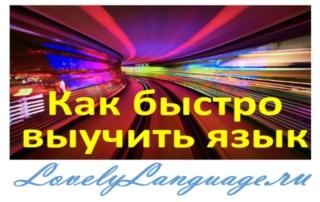 Совет 1. Сделайте изучение языка неизбежным