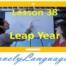 Високосный год - 38 урок - английский для начинающих с Дженнифер