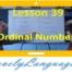Порядковые числительные - 39 урок - английский для начинающих с Дженнифер